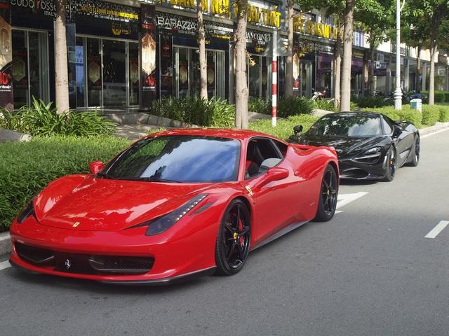 Dàn siêu xe, xe siêu sang bạc tỷ của giới nhà giàu Sài Gòn nối đuôi nhau đi dã ngoại cuối tuần - Ảnh 8.