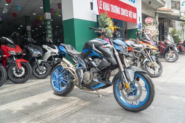Chi tiết Zontes 310R giá 95 triệu đồng tại Việt Nam: Gốc Trung Quốc, có ABS, đấu Honda CB300R và Kawasaki Z300 - Ảnh 2.