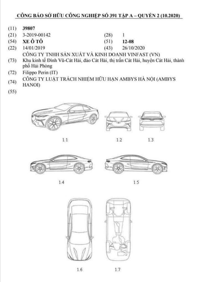 Lộ bản vẽ VinFast Lux A2.0 phiên bản 2 cửa: Xe thể thao Việt tham vọng đối đầu Mercedes E-Class Coupe? - Ảnh 1.