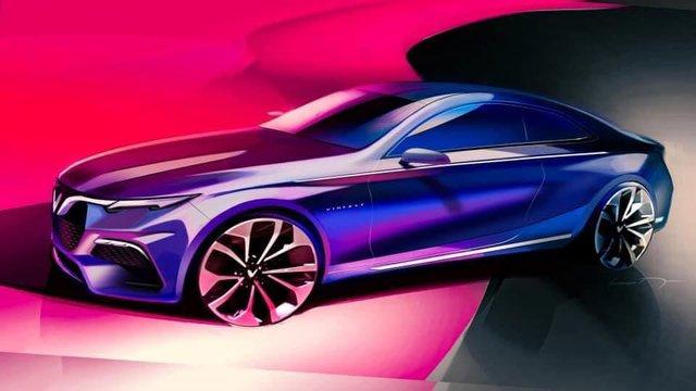 Lộ bản vẽ VinFast Lux A2.0 phiên bản 2 cửa: Xe thể thao Việt tham vọng đối đầu Mercedes E-Class Coupe? - Ảnh 2.