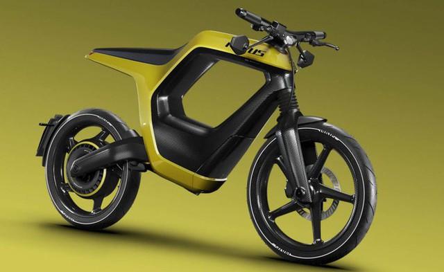 Xe máy điện kiểu dáng lạ, giá bán ngang ô tô - Ảnh 3.