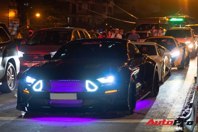 Dàn siêu xe Hà Thành tụ tập mừng sinh nhật ca sĩ Tuấn Hưng, một chi tiết gây tiếc nuối - Ảnh 3.