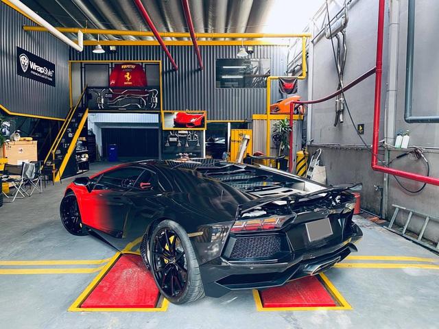 Lamborghini Aventador LP700-4 có lai lịch đặc biệt nhất Việt Nam tiếp tục biến hoá với diện mạo khác lạ - Ảnh 1.
