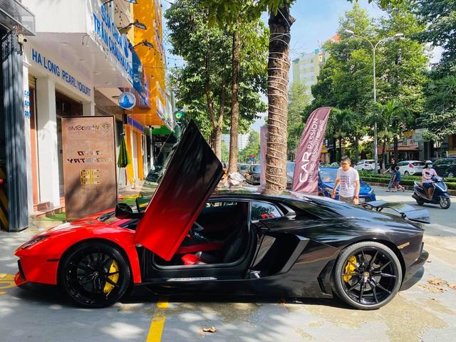 Lamborghini Aventador LP700-4 có lai lịch đặc biệt nhất Việt Nam tiếp tục biến hoá với diện mạo khác lạ - Ảnh 2.