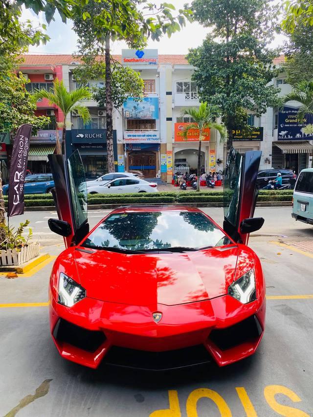 Lamborghini Aventador LP700-4 có lai lịch đặc biệt nhất Việt Nam tiếp tục biến hoá với diện mạo khác lạ - Ảnh 5.
