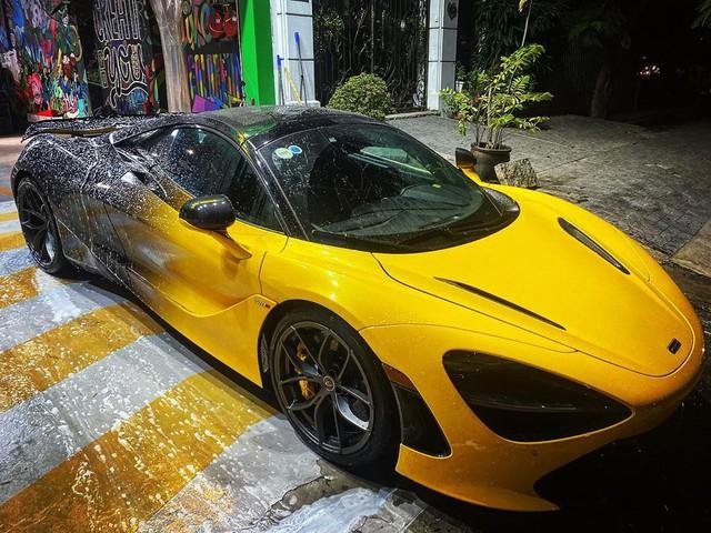 McLaren 720S Spider màu vàng độc nhất Việt Nam thay áo và dân tình bắt đầu nhận ra trend mới của làng siêu xe Việt - Ảnh 1.