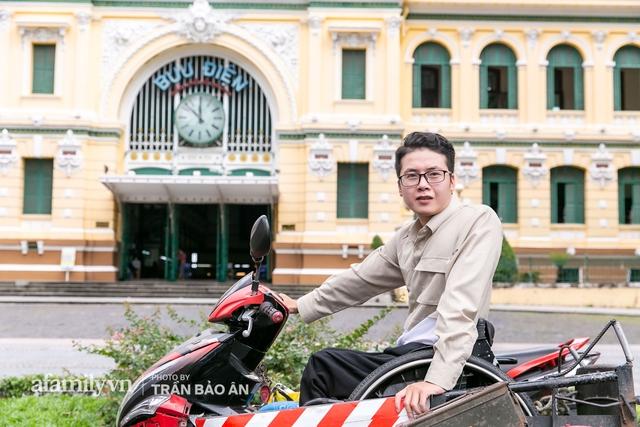 """Chàng trai đi phượt bằng xe lăn, chinh phục những con đèo hiểm trở nhất Việt Nam: Mất 10 năm định nghĩa hai từ """"tự do"""" bằng cách chưa ai từng làm! - Ảnh 10."""