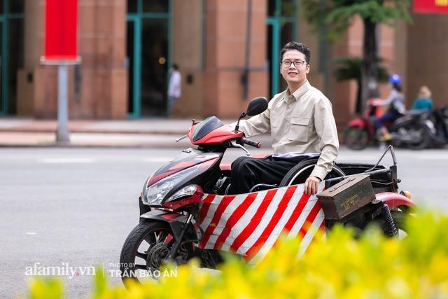 """Chàng trai đi phượt bằng xe lăn, chinh phục những con đèo hiểm trở nhất Việt Nam: Mất 10 năm định nghĩa hai từ """"tự do"""" bằng cách chưa ai từng làm! - Ảnh 7."""