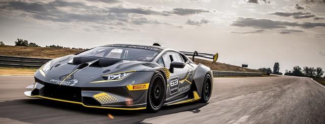 Lamborghini Huracan STO mạnh nhất nhá hàng, ra mắt ngay 18/11 này - Ảnh 1.