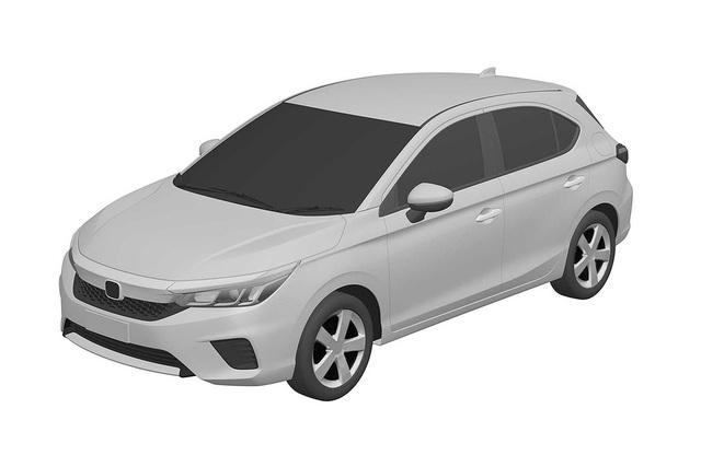 Đây là thiết kế Honda City Hatchback sẵn sàng ra mắt vào 24 tới đây? - Ảnh 1.