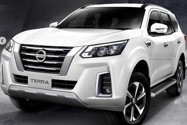 Nissan Terra lộ nhiều chi tiết trước ngày ra mắt - Ảnh 1.