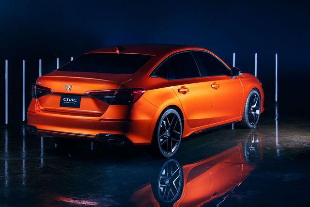 Ra mắt Honda Civic 2022 bản gần hoàn chỉnh - Tiểu Accord sẵn sàng khuấy động phân khúc C - Ảnh 2.
