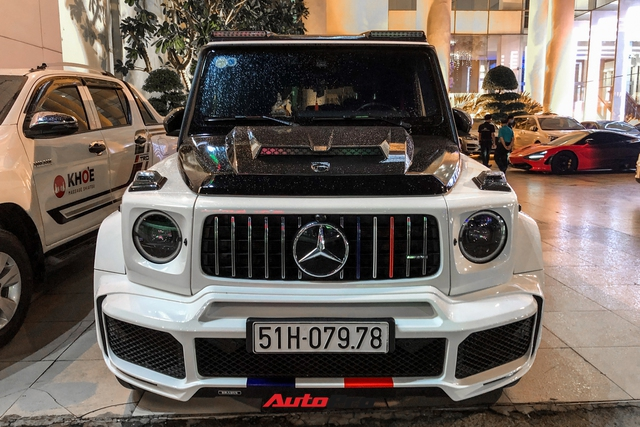 Minh nhựa lột xác con cưng Mercedes-AMG G63 Edition 1 với bộ bodykit Brabus hầm hố - Ảnh 3.