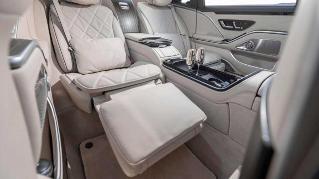 Ra mắt Mercedes-Maybach S-Class 2021: Đẹp mỹ miều, có chi tiết hệt Rolls-Royce, xứng danh xe Chủ tịch - Ảnh 4.