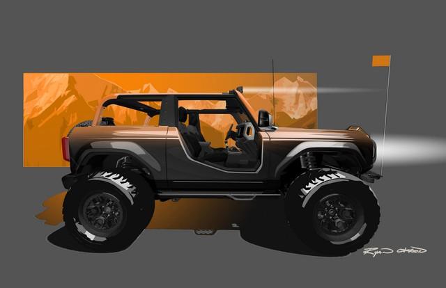 Ford lấp lửng Bronco, Bronco Sport, F-150 và Ranger đặc biệt - Ảnh 1.