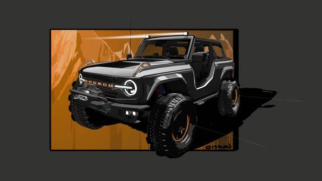 Ford lấp lửng Bronco, Bronco Sport, F-150 và Ranger đặc biệt