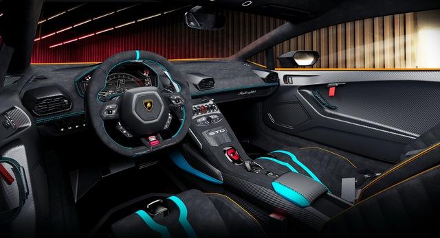 Ra mắt Lamborghini Huracan STO - Siêu bò mới cho đại gia thích tốc độ, giá quy đổi từ 7,6 tỷ đồng  - Ảnh 6.