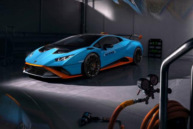 Ra mắt Lamborghini Huracan STO - Siêu bò mới cho đại gia thích tốc độ, giá quy đổi từ 7,6 tỷ đồng  - Ảnh 1.