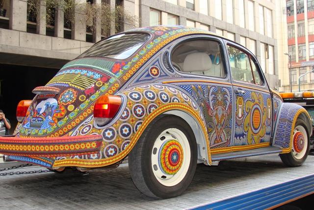 Ảnh chi tiết Volkswagen Beetle Vochol có một không hai  - Ảnh 2.
