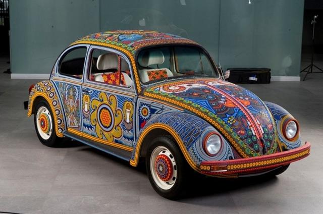 Ảnh chi tiết Volkswagen Beetle Vochol có một không hai  - Ảnh 6.