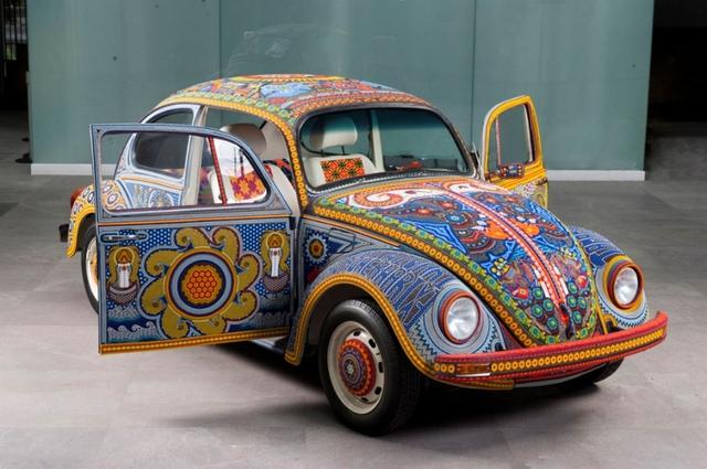 Ảnh chi tiết Volkswagen Beetle Vochol có một không hai  - Ảnh 1.
