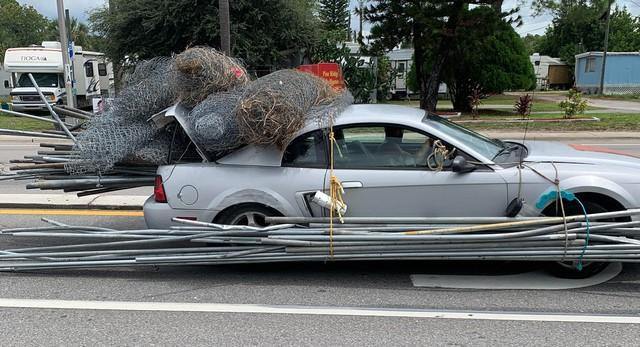 Khi bạn chạy Ford Mustang nhưng dòng đời đưa đẩy làm... thu mua sắt vụn - Ảnh 1.