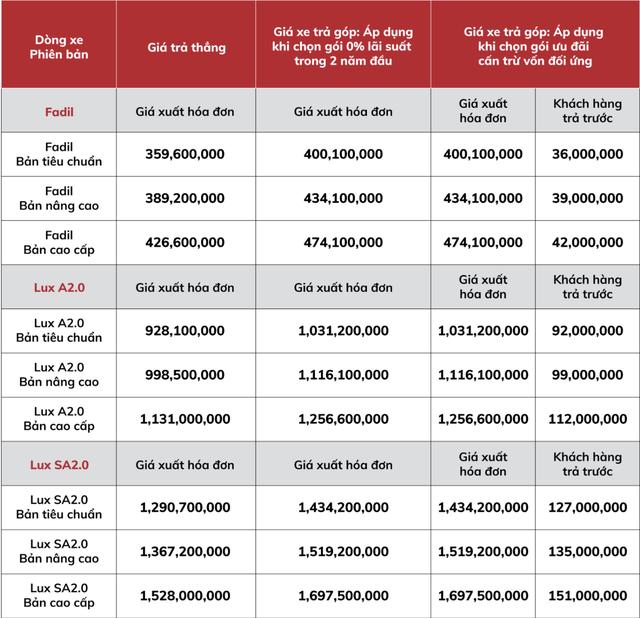 VinFast công bố giá mới và đây là cách hiểu đúng để không lẫn lộn ma trận giá xe - Ảnh 1.