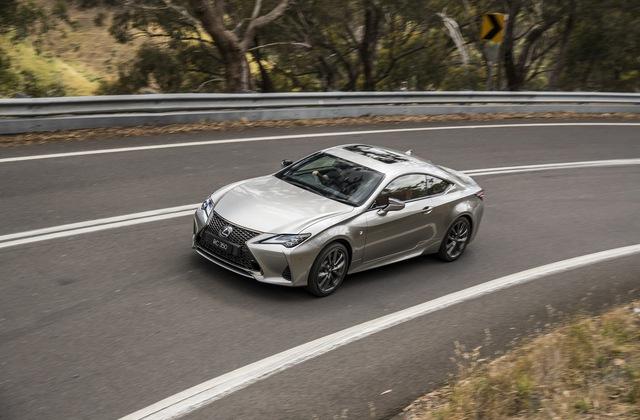 Lexus RC cập nhật phiên bản mới - Xe chơi điệu đà đối đầu BMW 4-Series Coupe và Mercedes C-Class Coupe - Ảnh 1.