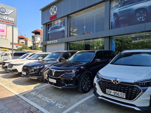 Ô tô Trung Quốc đang bán tại Việt Nam thảm hại ở quê nhà, Zotye Z8 và BAIC Q7 không bán nổi 1 xe - Ảnh 4.