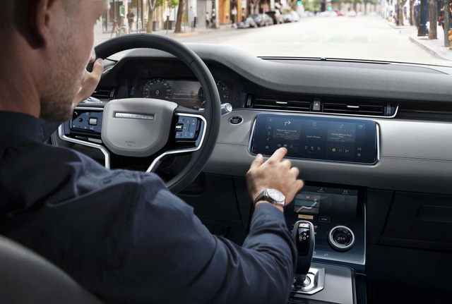 Range Rover Evoque 2021 có nội thất kiểu mới, thêm nhiều công nghệ mới lạ trong xe - Ảnh 1.
