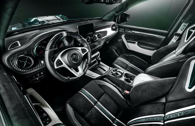Đại gia Việt chưa kịp đặt mua bán tải Mercedes-Benz X-Class sẽ phải tiếc nuối khi nhìn vào bản độ này - Ảnh 4.
