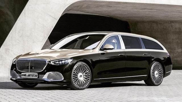 Mercedes-Maybach S-Class 2021 đang có 'bộ khung hoàn hảo nhất' để làm bản kéo dài