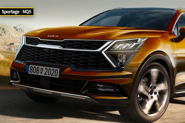 Xem trước Kia Sportage thế hệ mới hoàn chỉnh hơn: Bom tấn đặc sệt nét tương lai, sẽ làm khó Honda CR-V và Mazda CX-5