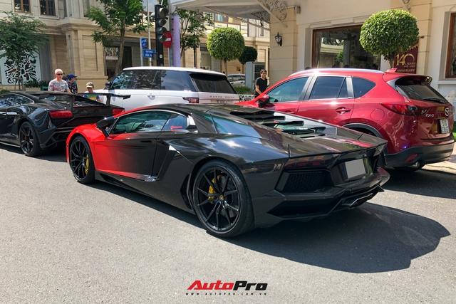 Sau màn lột xác ngỡ ngàng, Lamborghini Aventador LP700-4 có lai lịch đặc biệt nhất Việt Nam được chủ xe đưa đi hoà nhập cộng đồng - Ảnh 4.