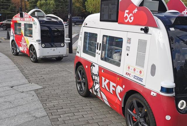 KFC dùng ô tô tự lái để giao gà rán ở Trung Quốc - Ảnh 2.