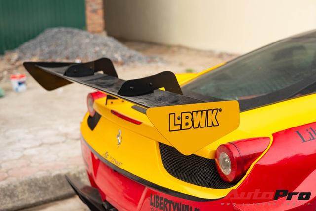Bắt gặp Ferrari 458 Italia độ Liberty Walk LB-Silhouette Works GT độc nhất Việt Nam, được đồn đoán nằm chung garage với loạt siêu xe khủng - Ảnh 6.
