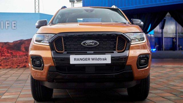 Ford Ranger 2021 rục rịch về Việt Nam: Đầu như Mustang, thêm trang bị mà nhiều chủ bán tải mong muốn - Ảnh 2.