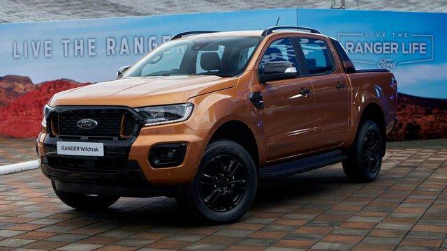 Ford Ranger 2021 rục rịch về Việt Nam: Đầu như Mustang, thêm trang bị mà nhiều chủ bán tải mong muốn - Ảnh 1.