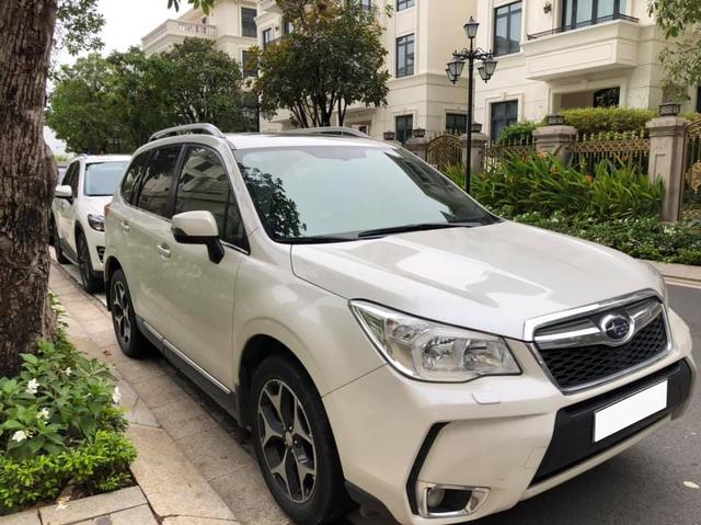 7 năm chạy 124.000km, Subaru Forester bán lại chỉ rẻ hơn giá xe mới 220 triệu đồng - Ảnh 1.