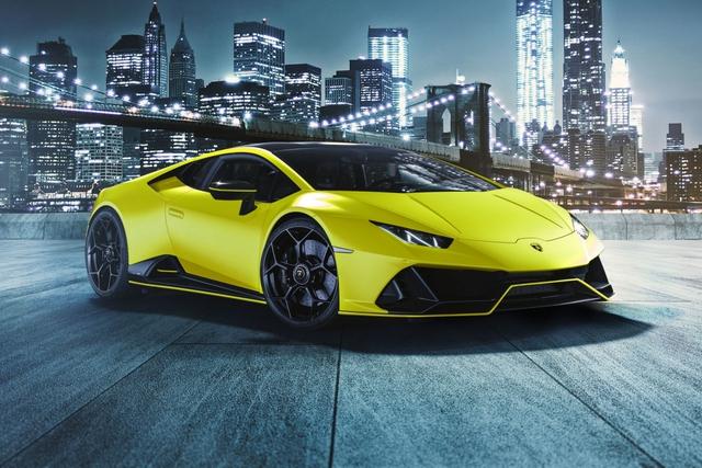 Lamborghini ra mắt năm màu sơn đặc biệt cho Huracan EVO - Ảnh 1.