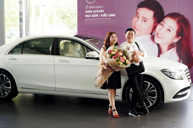 Bóc giá xe Mercedes-Benz Kiều Linh được ông xã Mai Sơn tặng - Ảnh 1.