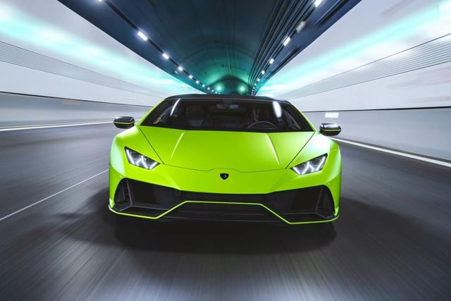 Lamborghini ra mắt năm màu sơn đặc biệt cho Huracan EVO - Ảnh 3.