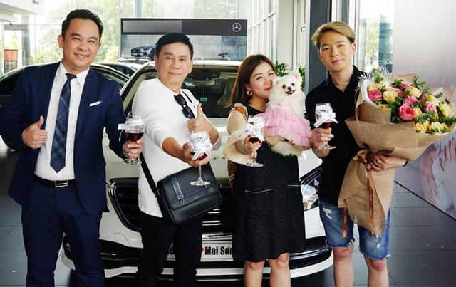 Bóc giá xe Mercedes-Benz Kiều Linh được ông xã Mai Sơn tặng - Ảnh 3.