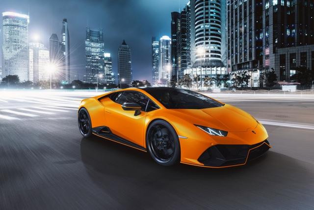 Lamborghini ra mắt năm màu sơn đặc biệt cho Huracan EVO - Ảnh 4.