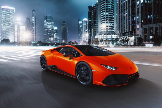 Lamborghini ra mắt năm màu sơn đặc biệt cho Huracan EVO - Ảnh 8.