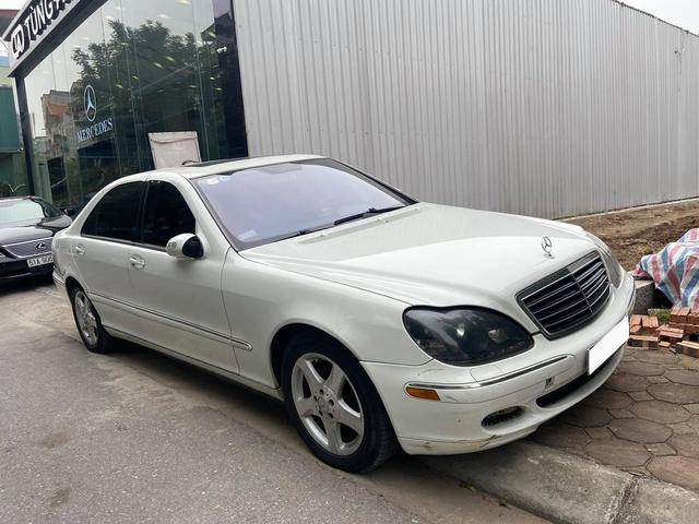 Sau 16 năm, Mercedes-Benz S 500 bán lại với giá rẻ ngang Honda SH - Ảnh 4.