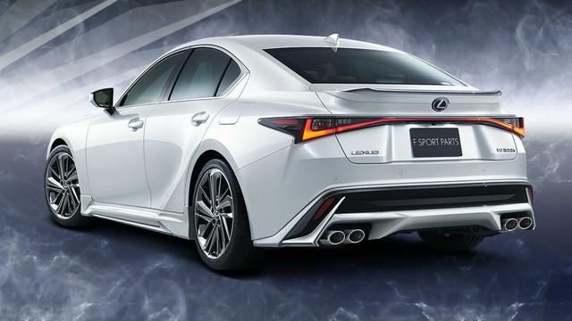 Lexus IS nâng cấp với gói độ thể thao hầm hố - Nỗ lực trẻ hoá, đấu 3-Series, C-Class - Ảnh 1.
