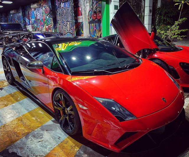 Lamborghini Gallardo LP560-4 độ bodykit Squadra Corse độc nhất Việt Nam lột xác với ngoại thất bắt trend - Ảnh 1.