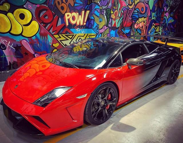 Lamborghini Gallardo LP560-4 độ bodykit Squadra Corse độc nhất Việt Nam lột xác với ngoại thất bắt trend - Ảnh 2.