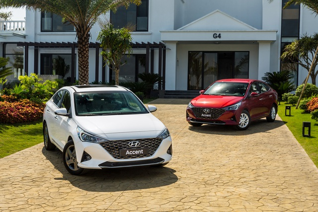 Chênh 116 triệu đồng, đây là sự khác biệt giữa 4 phiên bản Hyundai Accent 2021 tại thị trường Việt Nam - Ảnh 1.